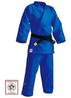 IJF approved JudogiMizuno Yusho lll, blue